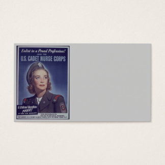 Join Nurse Cadets Business Card