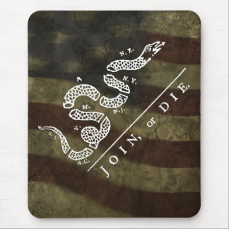 Join Or Die :: $13.95 Mouse Pad