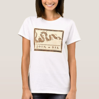 JOIN OR DIE AMERICANA T-Shirt