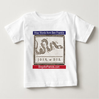 Join or Die Baby T-Shirt
