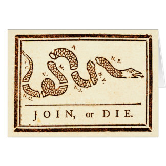 Join or Die Cards