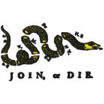 Join or Die Embroidered Shirt