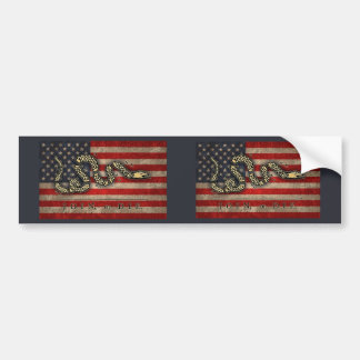 Join, Or Die -Flag Bumper Stickers