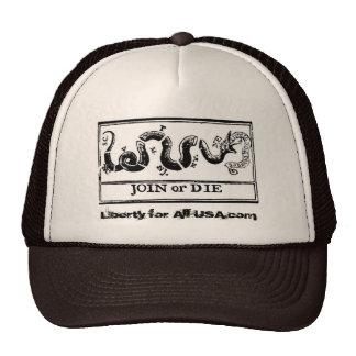 Join or Die Hat Head