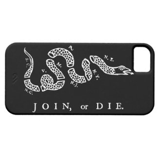 Join or Die iPhone 5 Covers