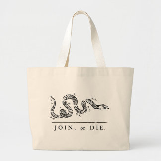 Join Or Die - Libertarian Canvas Bag