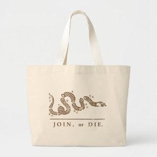 Join Or Die - Libertarian Bags