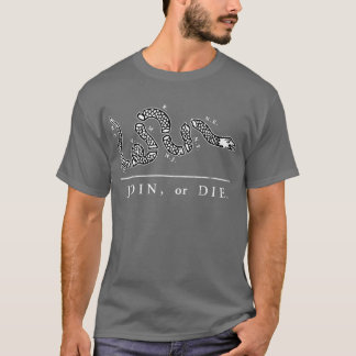 Join or Die - Libertarian T-Shirt