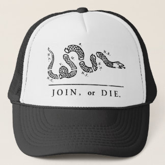 Join or Die - Libertarian Trucker Hat