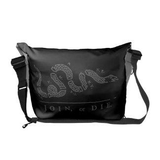 Join or Die Messenger Bag