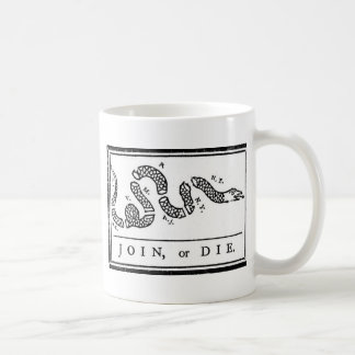 Join, or Die Coffee Mugs
