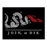 JOIN, or DIE New England Post Card