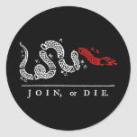 JOIN, or DIE New England Sticker