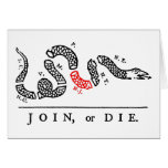 JOIN, or DIE New Jersey Greeting Cards