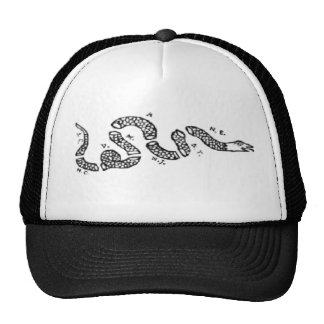 Join Or Die Snake Mesh Hats