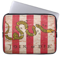 Join or Die Sons of Liberty Electronics Bag