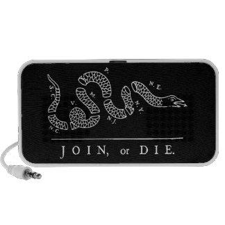 JOIN, or DIE Speaker (black)
