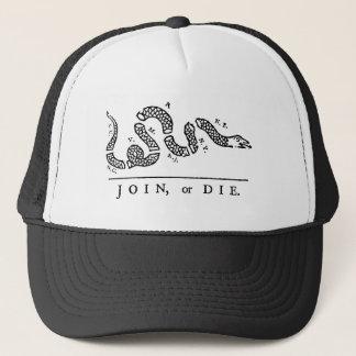 Join or Die Trucker Hat