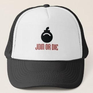 JOIN-OR-DIE TRUCKER HAT