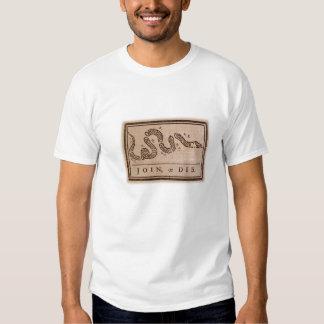 Join or Die Tshirts