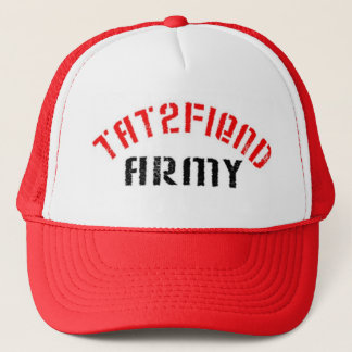 Join Our Tat2fiend Army Trucker Hat