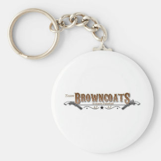 Join Team Browncoats Basic Round Button Keychain