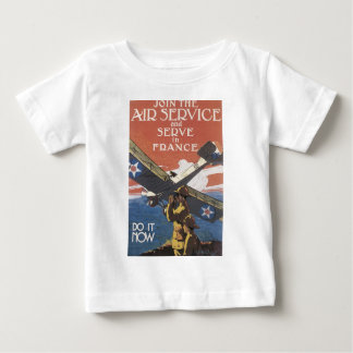 """Join the Air Service"" circa 1917 Baby T-Shirt"