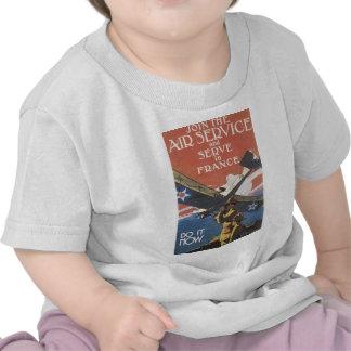 """Join the Air Service"" circa 1917 Shirt"