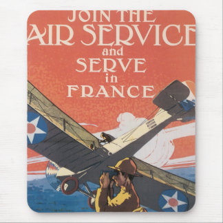 Join the Air Service Mouse Pad