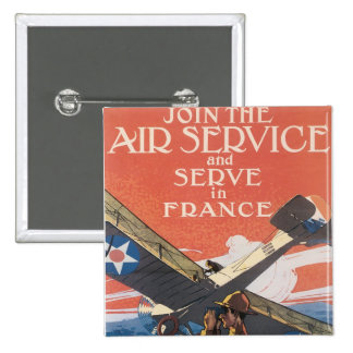 Join the Air Service Pinback Button