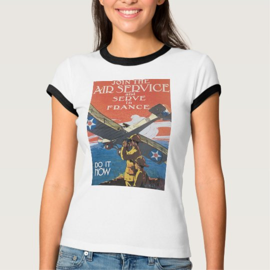 Join The Air Service T-Shirt