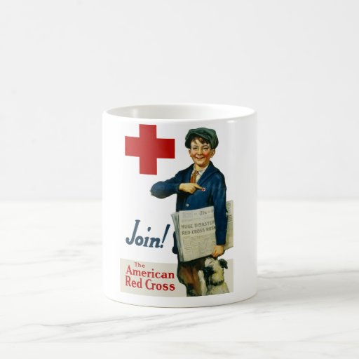 Join The American Red Cross Classic White Coffee Mug