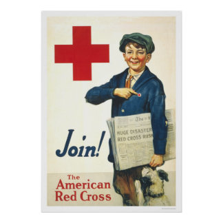 Join! The American Red Cross Poster