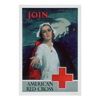 Join the American Red Cross (US00307) Poster
