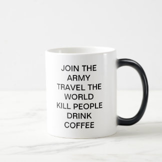 JOIN THE ARMY 11 OZ MAGIC HEAT Color-Changing COFFEE MUG