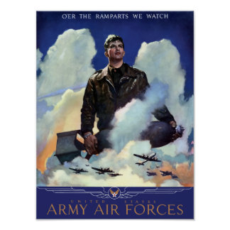 Join The Army Air Forces -- WWII Poster