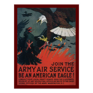Join the Army Air Service Poster