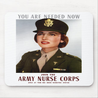 Join The Army Nurse Corps Mouse Pad
