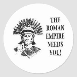 Join the Army - Roman Empire Classic Round Sticker