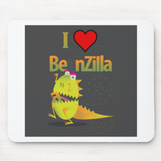 Join the BeanZilla Fan Club! Mouse Pad