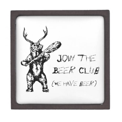Join the Beer Club Premium Trinket Box