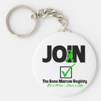 Join The Bone Marrow Registry - Save a Life Keychains