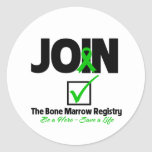 Join The Bone Marrow Registry - Save a Life Sticker