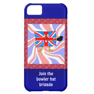 Join the bowler hat brigade iPhone 5C cover