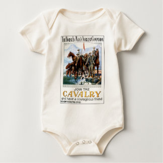 Join the Cavalry Baby Bodysuit