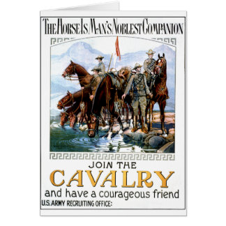 Join the Cavalry Greeting Cards