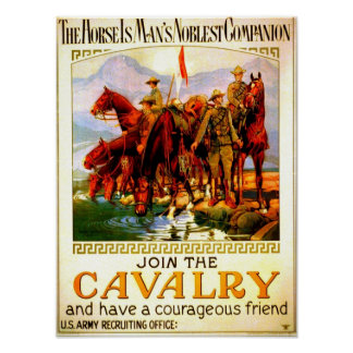 Join the Cavalry - War Horse Print