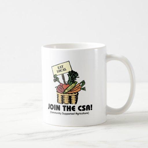 Join the CSA Coffee Mug