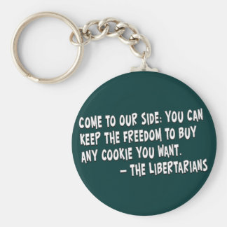 Join the dark side and become a Libertarian Keychain