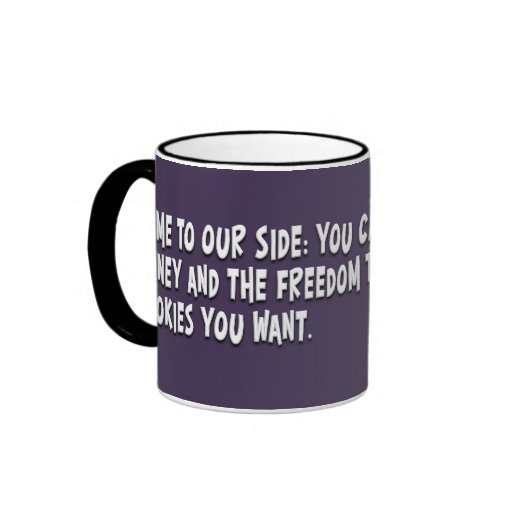 Join the dark side and become a Libertarian Ringer Coffee Mug